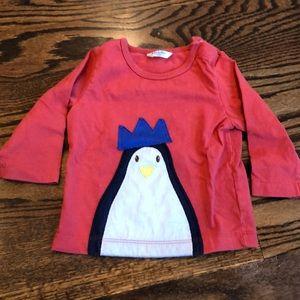 Baby Boden Penguin Shirt